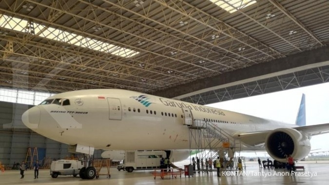 Jurus Garuda Indonesia menggenjot pendapatan