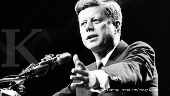 Ribuan dokumen rahasia pembunuhan Kennedy dirilis