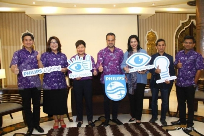 Philips Lighting kampanye eye comfort di Indonesia