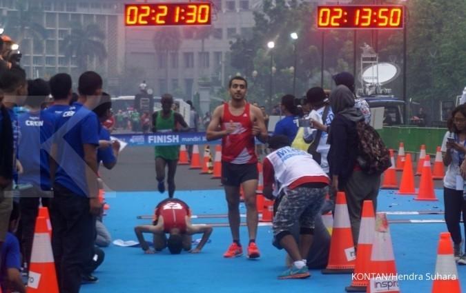 Pelari Afrika rajai Jakarta Marathon 2017