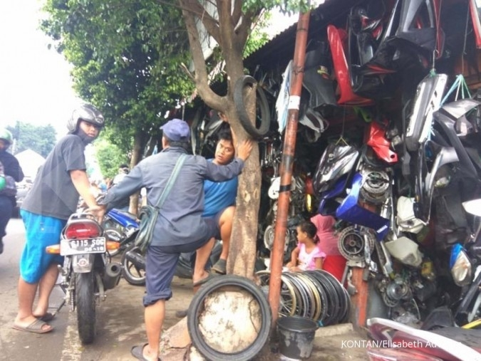 Ini satu sentra onderdil di Jakarta Timur (2)