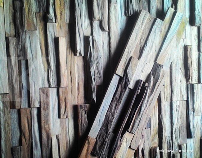 Menyusun peluang dari limbah kayu potongan