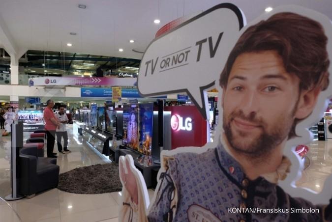 Penjualan Electronic City terdongkrak produk TV