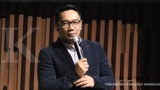 SK dukungan Golkar untuk Ridwan Kamil dipamerkan