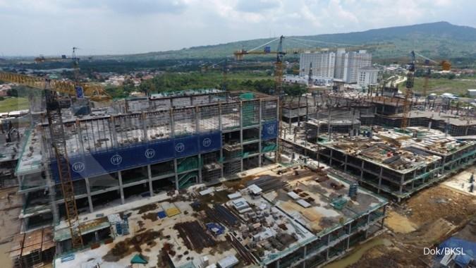 BKSL Proyek AEON Mall akan diserahterimakan akhir November
