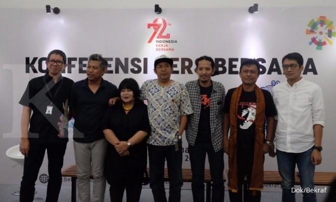 Tiga kota segera hadirkan biennale secara simultan