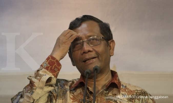 No hard feelings about Jokowi's decision: Mahfud MD