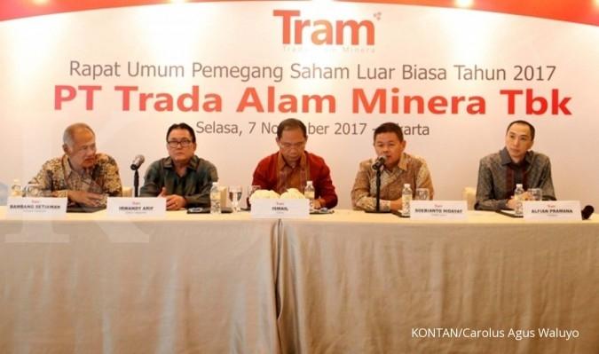 Harga rights issue Trada Alam Rp 150 per saham