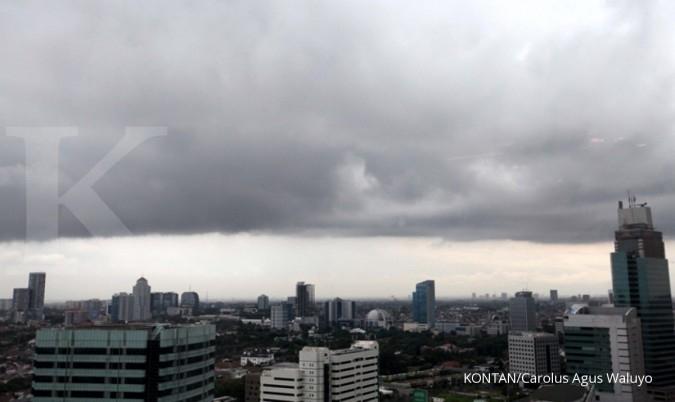 Hujan ringan akan guyur sebagian Jabodetabek