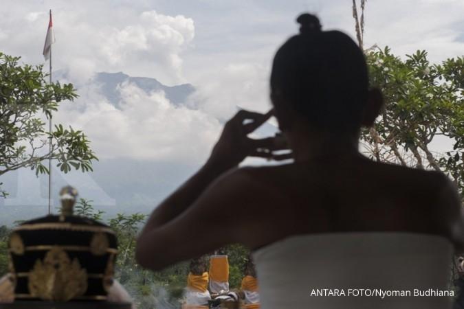 Gempa Bali akibat aktivitas vulkanik Gunung Agung