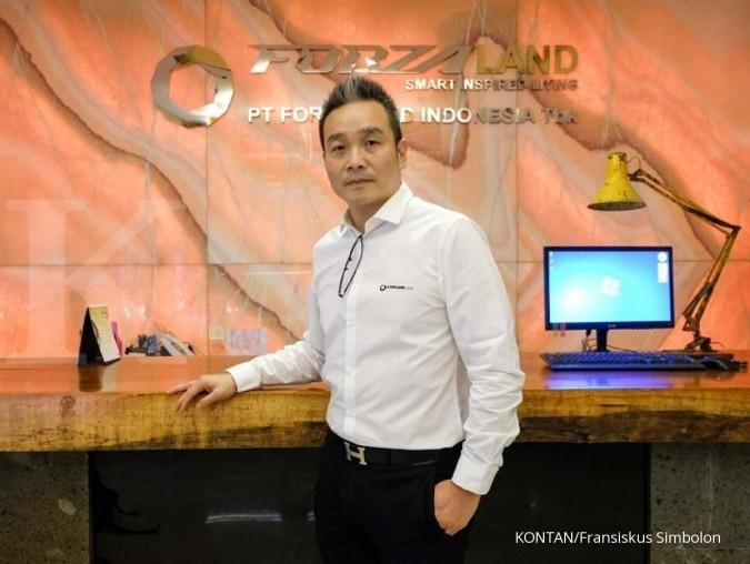 Dirut Forza Land Freddy Setiawan, mantan atlet yang gemar investasi