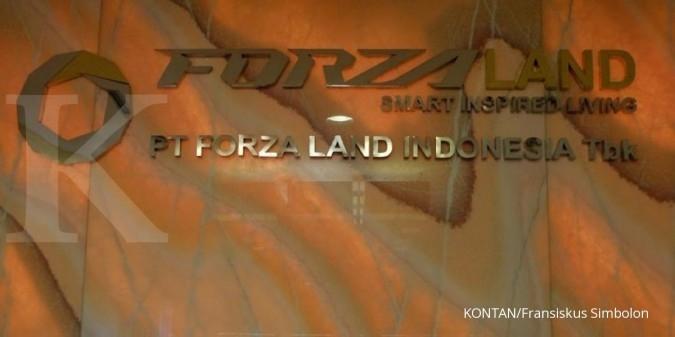 Saham dan waran Forza Land (FORZ) bisa ditransaksikan lagi hari ini