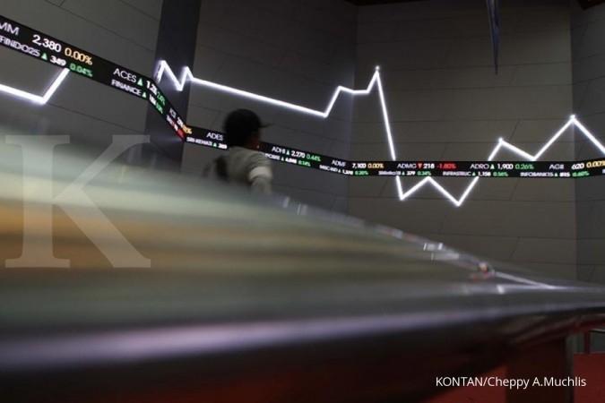 Bergerak stabil, IHSG merosot di akhir perdagangan