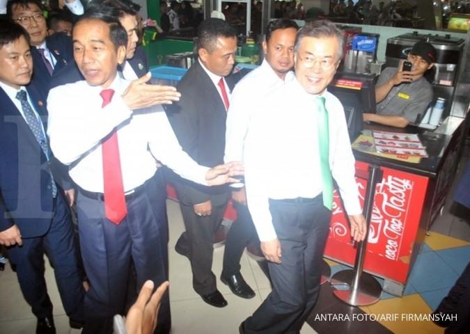 Jokowi minta Korsel lindungi TKI