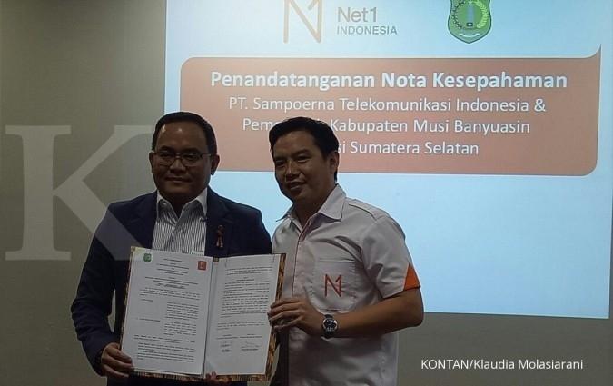 Net1 Indonesia sediakan 4G LTE di Musi