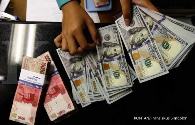 Rekor baru, rupiah berada di Rp 13.590 per dolar AS