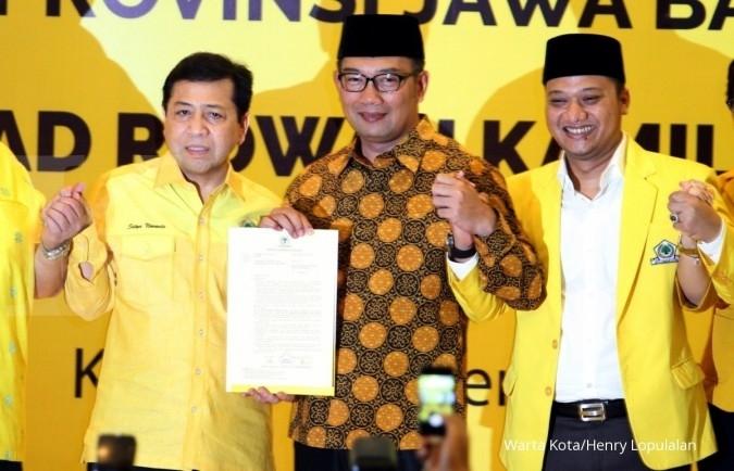 Ini tiga calon pendamping Ridwan Kamil