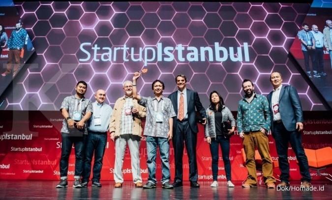 Homade.id juara 3 di Startup Istanbul 2017