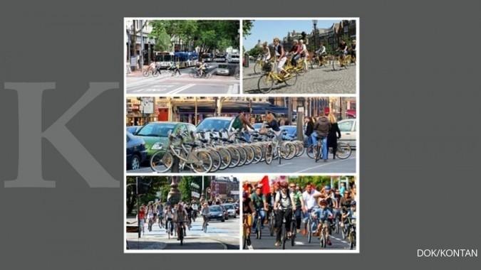 5 Kota paling ramah sepeda di dunia