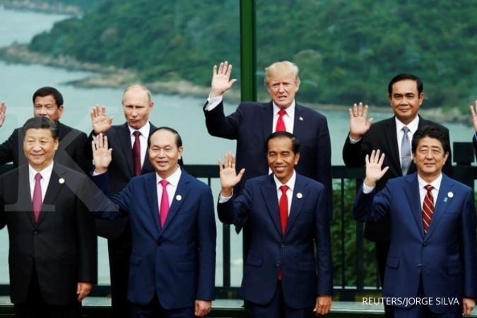 Jokowi: Laut harus jadi pusat ekonomi Asia-Pasifik
