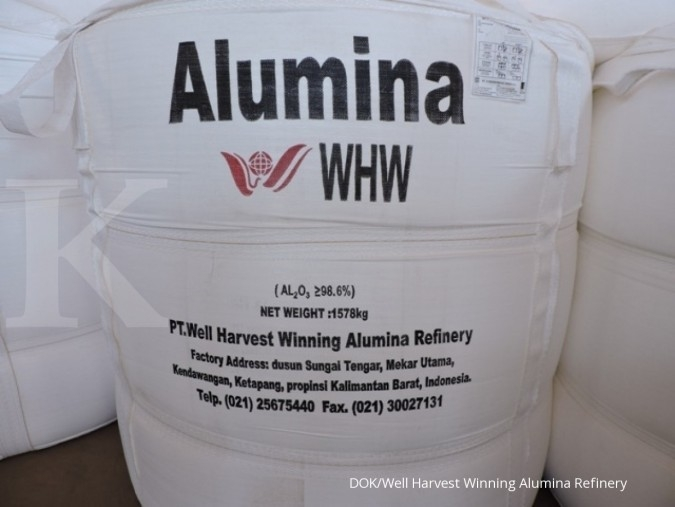 Well Harvest akan ekspor 30.000 ton alumina ke Malaysia