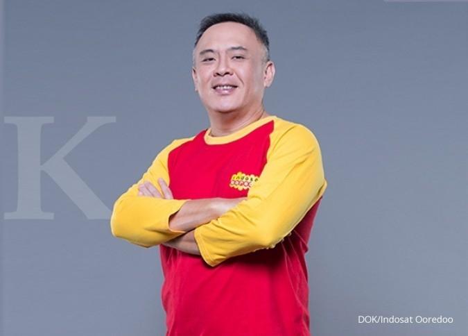Joy Wahjudi, orang nomor satu Indosat Ooredoo