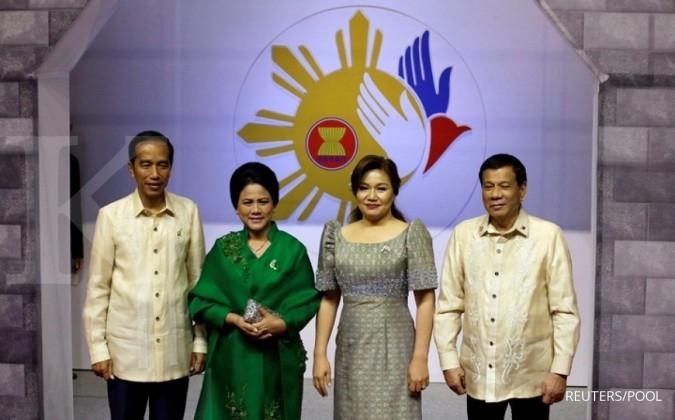 Jokowi lakukan 21 kegiatan di KTT ASEAN Filipina