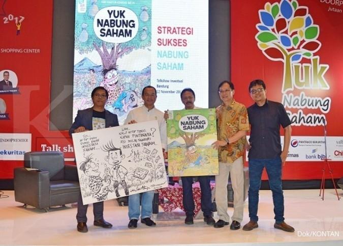 Komik Yuk Nabung Saham Kontan-BEI resmi meluncur