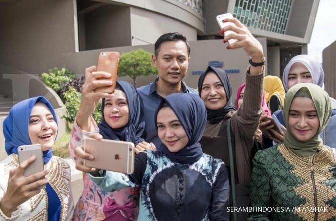 Indo Barometer: Elektabilitas Jokowi-AHY tertinggi