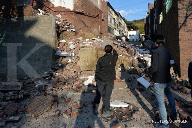 Gempa 5,4 magnitudo di Korsel, gara-gara Korut?