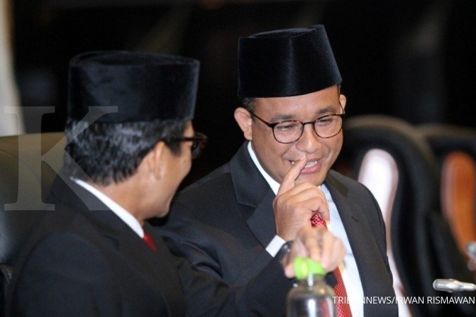 Anies told to make regulations on special staffers