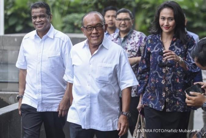 Aburizal Bakrie diperiksa KPK untuk Setya Novanto