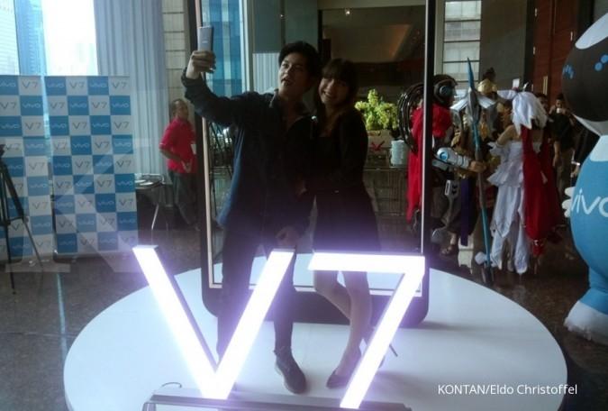 Ponsel Vivo V7 dibanderol Rp 3,79 juta