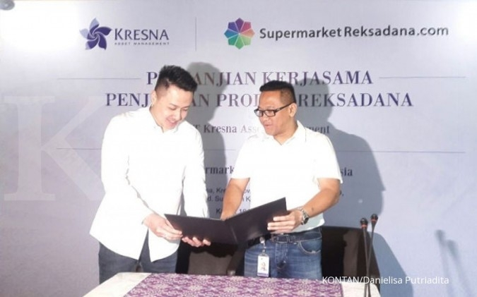Kresna AM jualan via supermarketreksadana.com