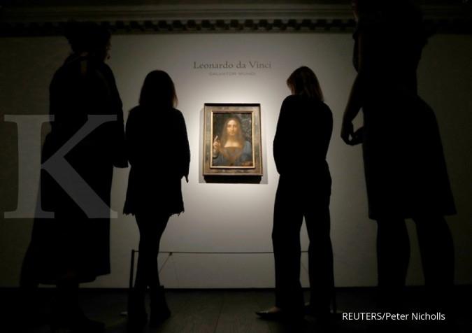 Lukisan Salvator Mundi pecahkan rekor penjualan