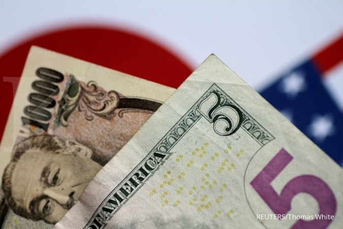Data AS membaik, dollar AS menekan yen