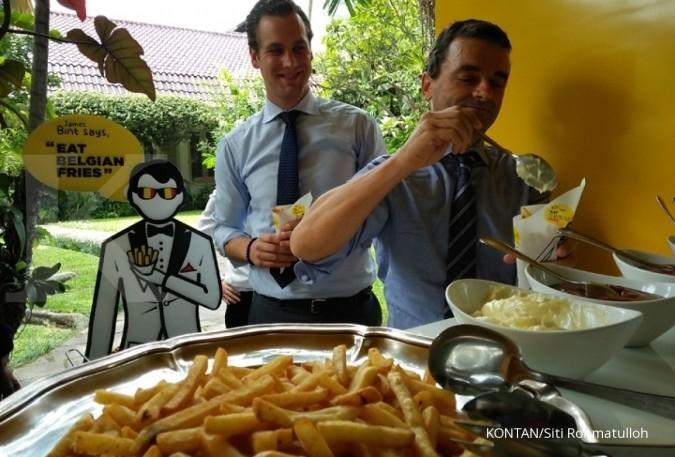 Indonesia jadi target pasar kentang goreng Belgia