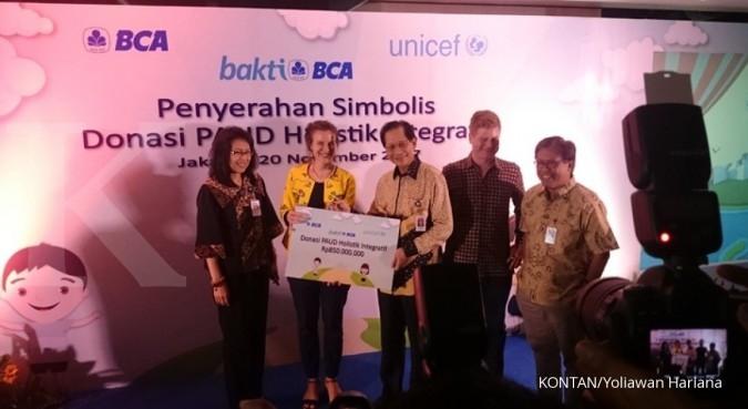 BCA sumbang Rp 850 juta untuk PAUD Papua