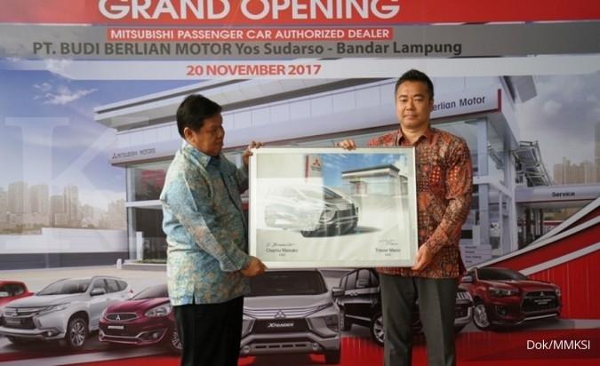 Mitsubishi tambah diler kendaraan di Lampung