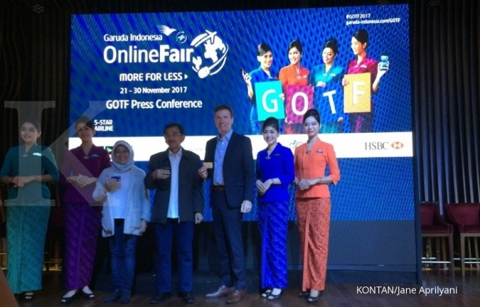 Garuda Online Travel Fair eyes 3 million tourists