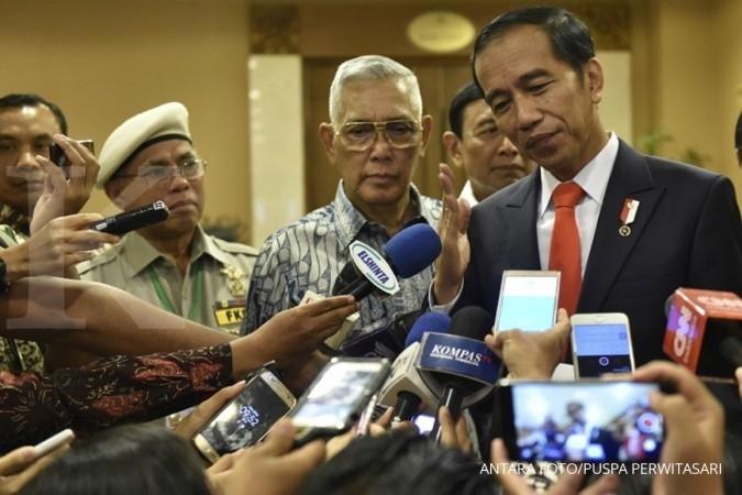 Jokowi blusukan ke Sun Plaza Medan