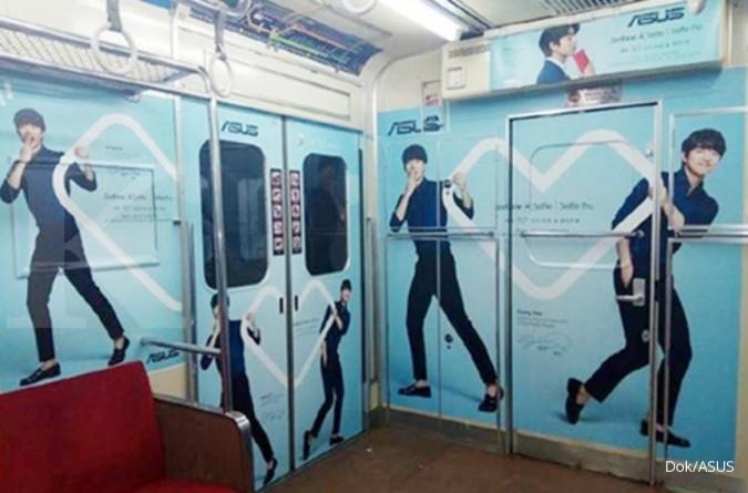 ASUS pilih beriklan di commuter line