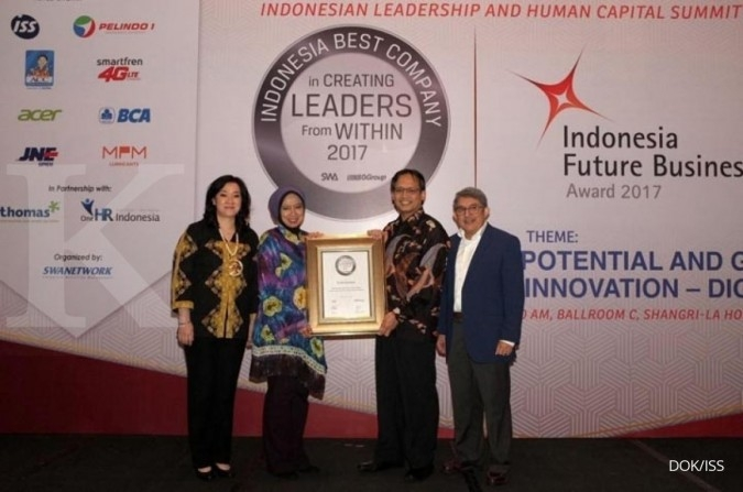 ISS raih Best in Empowering Career Advancement