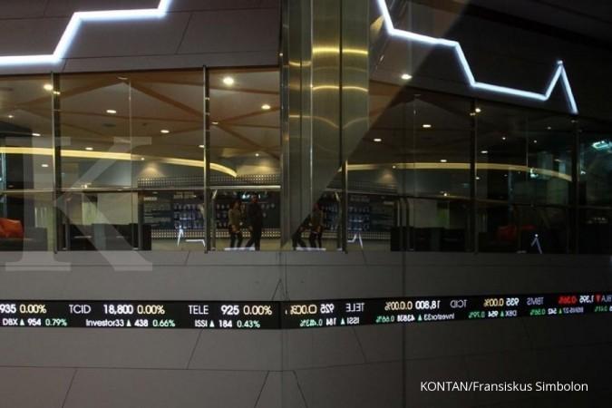 Aksi jual investor asing di BEI mulai terbatas