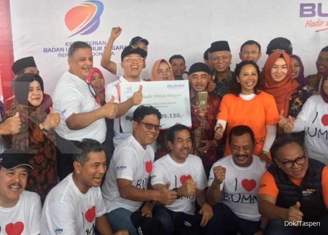 Taspen bangun tiga Rumah Perpustakaan di Bengkulu