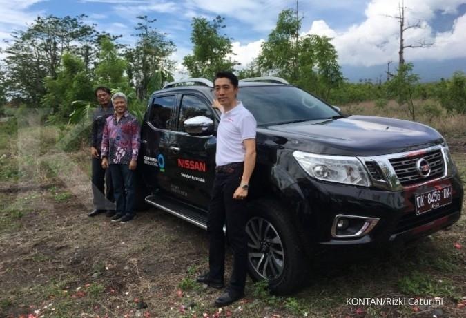 Nissan dukung reforestrasi Gunung Agung