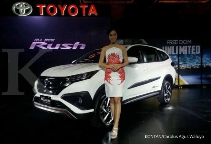 All new Toyota Rush siap dijajakan Januari 2018