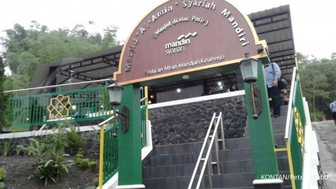 Mandiri Syariah bangun masjid di kawasan Merapi