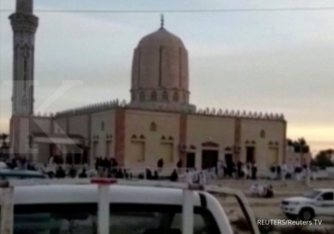 Bom mesjid di Mesir, korban tewas tembus 235 orang