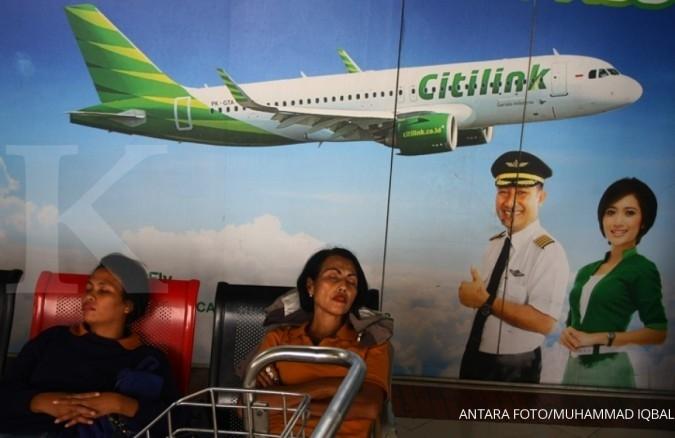 Citilink masih optimistis raih 12,5 juta penumpang
